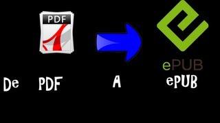 Pasar Libro De PDF A EPUB