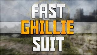 """How To Get A Ghillie Suit In Call Of Duty Ghosts! """"Fast"""