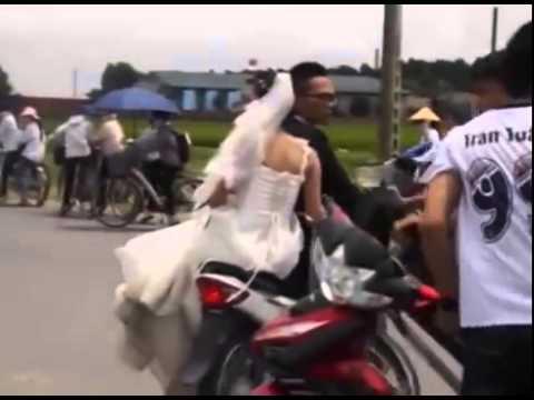 Đánh nhau khi rước dâu, 2 bố con chấp cả đám thanh niên