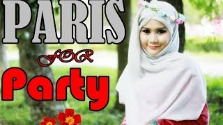 Tutorial Hijab Paris Pesta Segi Empat Menutup Dada By