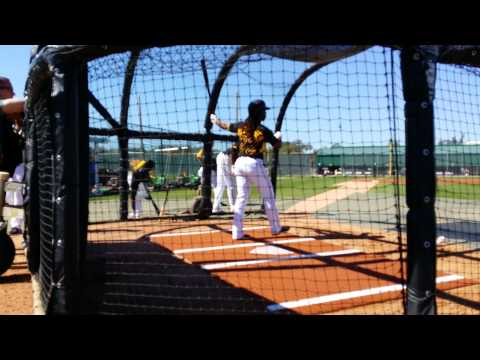 Andrew McCutchen, Starling Marte, Gregory Polanco