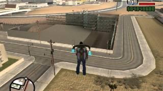 Como Pegar Arma Giratória GTA San Andreas Minigun 2013