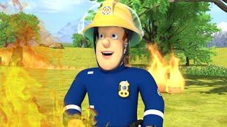 Požiarnik Sam - Sam je pripřaven bojovat proti požáru