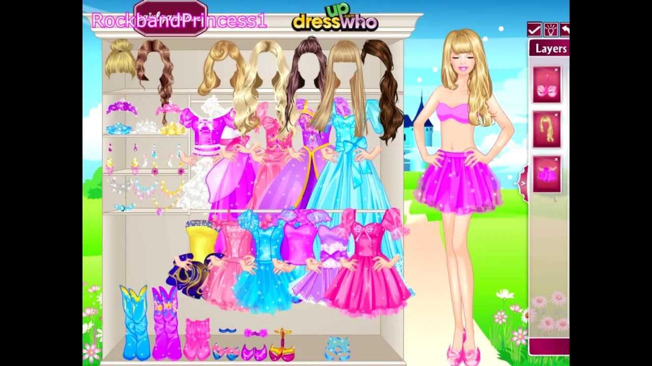 Barbie Games Barbie Princess Dress Up Game