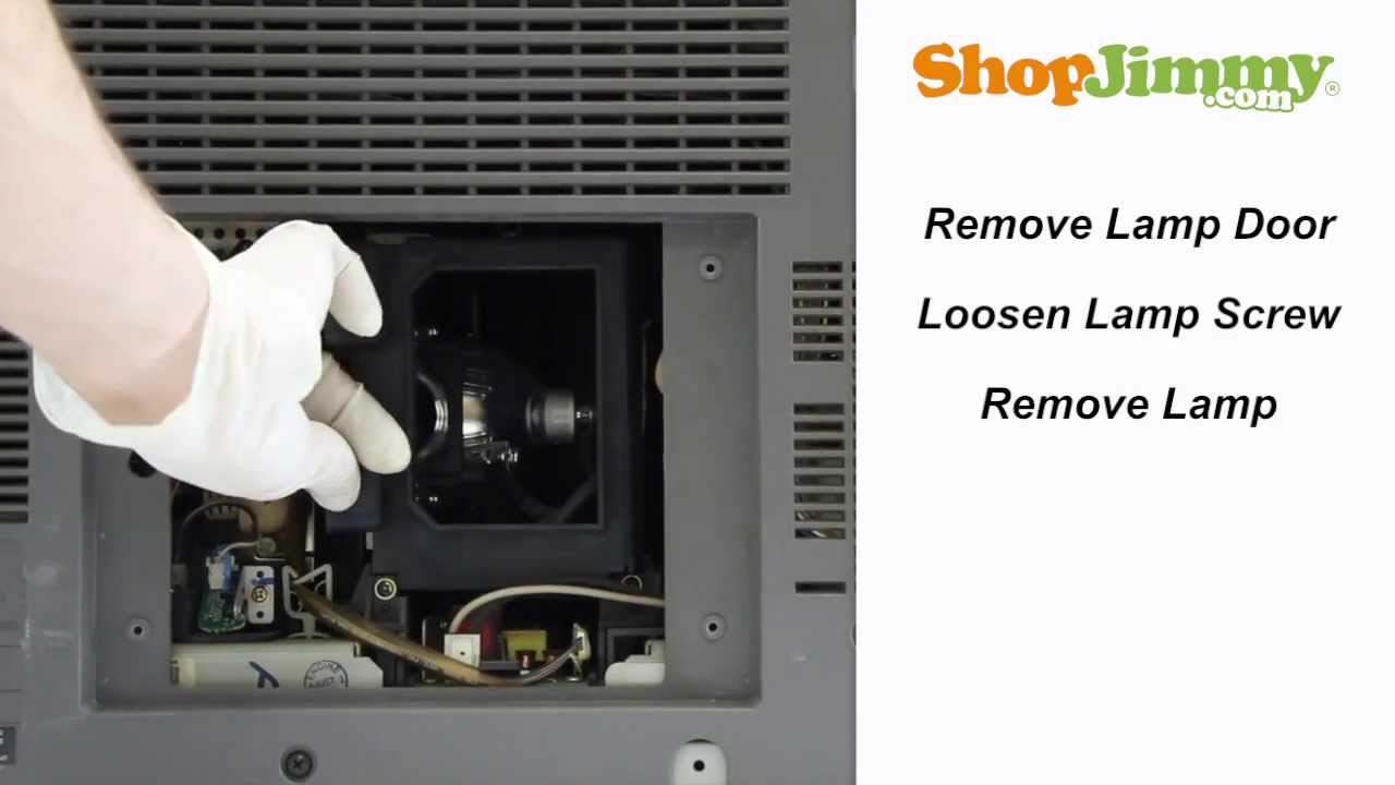 samsung hlr bp96 01073a lamp replacement guide for dlp tv repair. Black Bedroom Furniture Sets. Home Design Ideas