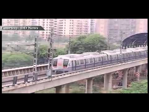 Metro Rail network spreads across India