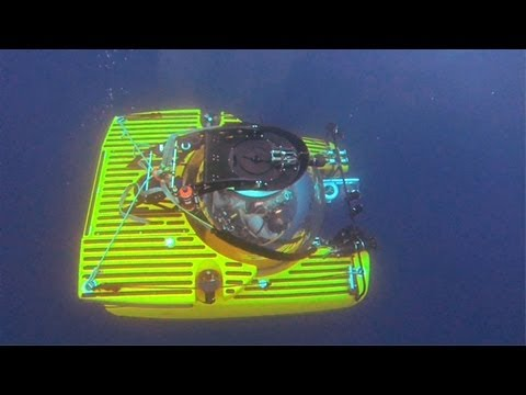 Submarine Dives Capture Bioluminescence in the Deep