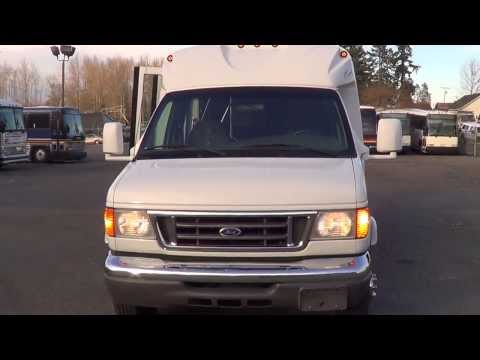 Northwest Bus Sales - 2006 Ford Starcraft Starquest 14 Passenger Rear Luggage Bus For Sale - S00405