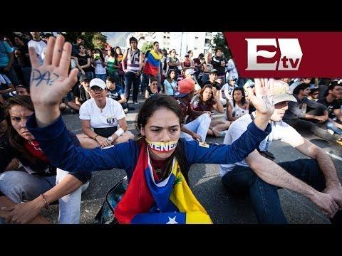 Maduro anuncia detención de un cerebro de las protestas en Venezuela/ Global María Navarro