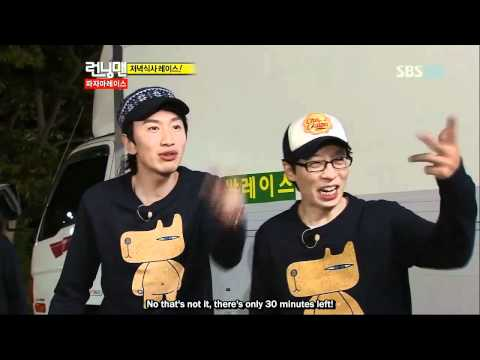 cute and shocked Jessica @ Running Man Ep 64 (eng sub)