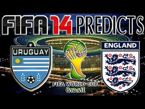 World Cup 2014 - Uruguay vs England | FIFA 14 PREDICTS (PS4)
