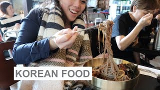 KOREA DAY 1 -  First Food in Seoul!