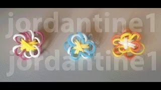 Two Color Flower Fun Charm New Updated Version Rainbow