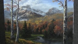 Paint With Kevin Hill Autumn Birch Trees
