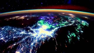 Потрясающая интервальная съемка Земли с МКС.