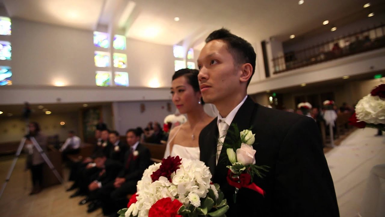 Mike Hung Amp Angela Linh Uyen Wedding Day Trailer Vietnamese American