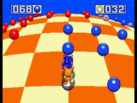 Sonic the Hedgehog 3 - Sega Genesis - third emerald and a perfect (all rings collected) - User video