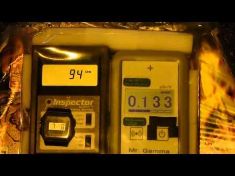 Fukushima Nuclear Accident  茨城・セブンイレブン牛久南の放射線測定20120708