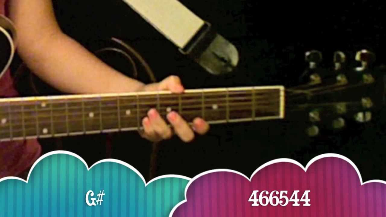 """Love You Like A Love Song"" - Selena Gomez Guitar Tutorial ..."