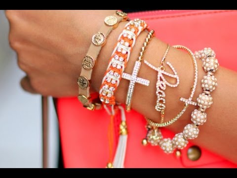 Arm Candy/ Wrist Candy - Cute Jewelry, Watches, Stacked Bracelets, Cute Candy Jewerly and Easy to Make!