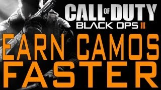 Black Ops 2 How To Earn Weapon Camos Faster (Call Of