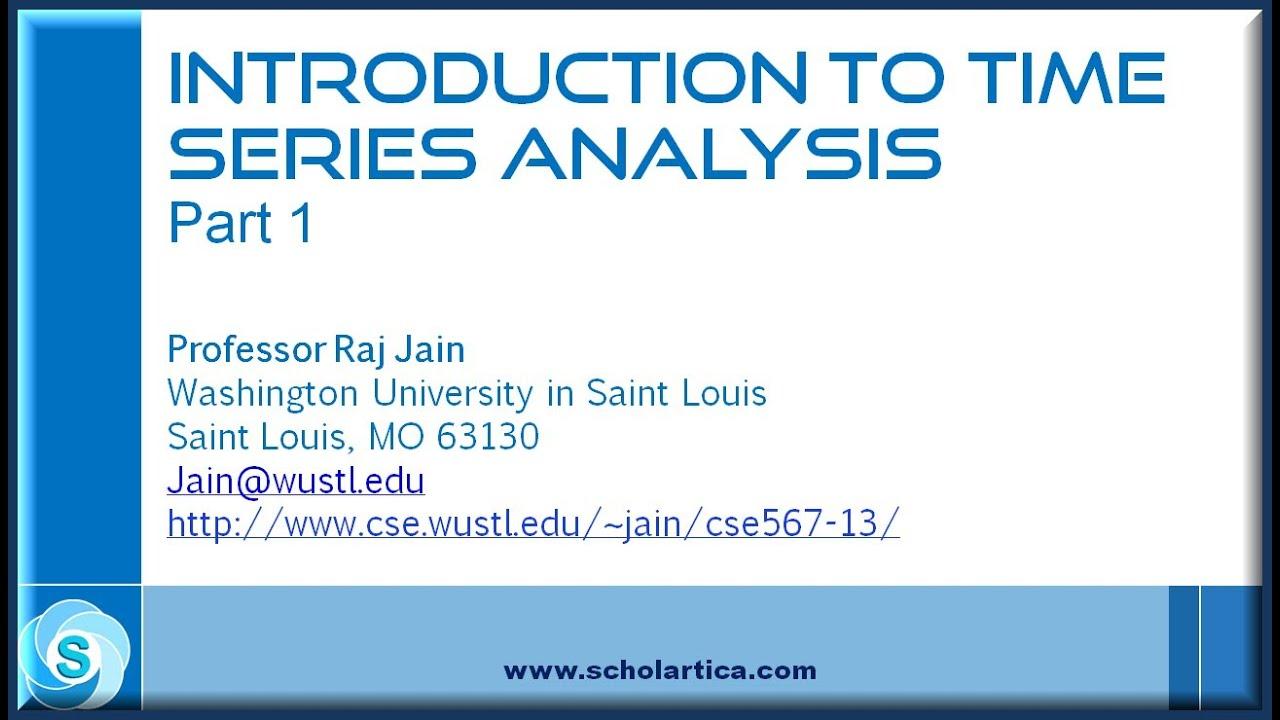 Introduction to Time Series Analysis | DataCamp