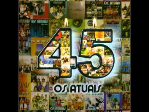 CD OS ATUAIS COMPLETO,45 ANOS AO VIVO