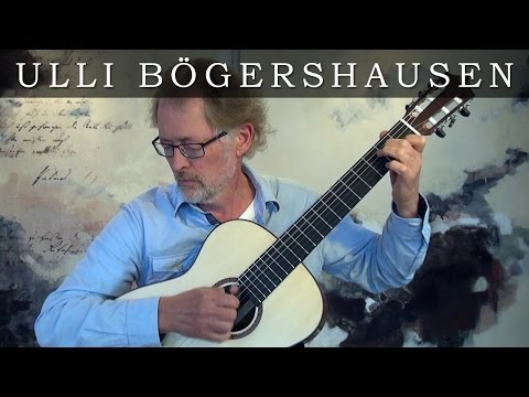 Ulli Boegershausen plays Manha de Carnaval (composed by Luiz Bonfa)