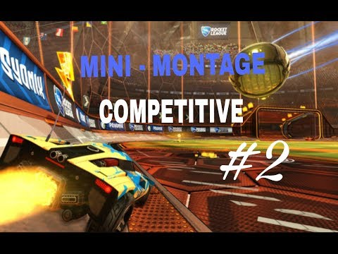 MINI-MONTAGE ROCKET LEAGUE BEST SAVED AND GOALS