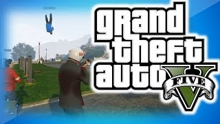 GTA 5 Online Funny Moments 20 Shark Eating A