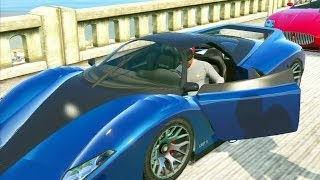 GTA 5 #16: Roubando Super Carros / Easter Egg Da Bola