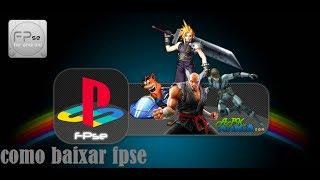 Tutorial De Como Baixar O Emulador De PlayStation 1 FPSE