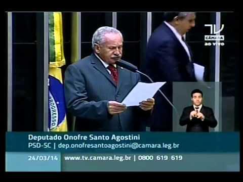 Onofre Santo Agostini (PSD-SC) fala sobre aviação civil e comenta sumiço de avião da Malásia
