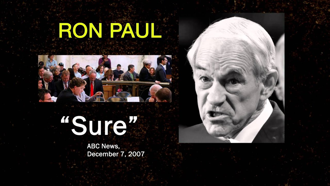 Ron paul gay marriage