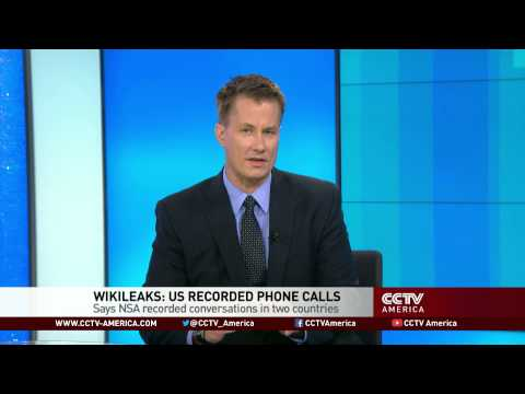 Wikileaks Says NSA Recorded Conversations in Two Countries