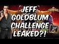 Jeff Goldblum Challenge Leaked Marvel Conest Of Champions