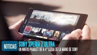 Sony Xperia Z Ultra, Precio Y Características