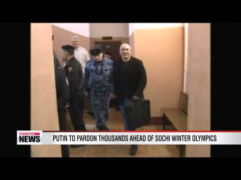 Putin to pardon jailed former oil tycoon Khodorkovsky