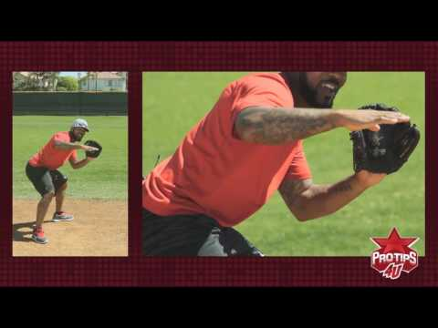 Fielding Tips: Fielding Various Types Of Ground Balls With Howie Kendrick
