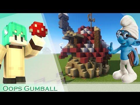 Oops Gumball Minecraft HƯỚNG DẪN XÂY NHÀ - TẬP 2 : XÂY NHÀ XÌ TRUM