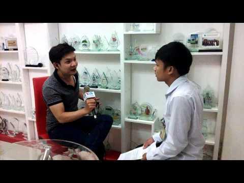 VOV Giao Thông phỏng vấn Hội SV Nghệ Tĩnh ĐH Kinh Tế TP.HCM