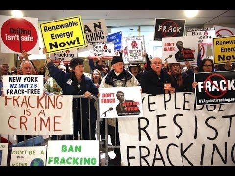 Fracking Ban Will Destroy New York Economy....says Right Wing Mandela