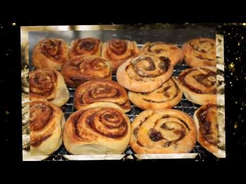 Weber BabyQ Cinnamon Rolls and Fruit Scrolls