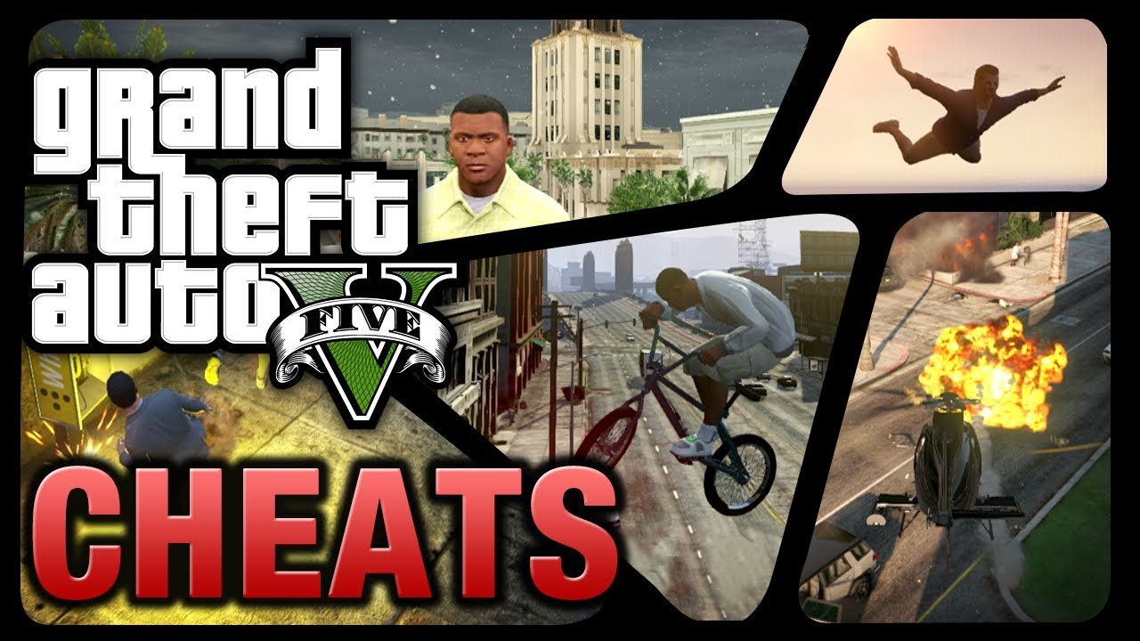 GTA 5 - Cheats (PS4, Xbox One, PS3 & Xbox 360) - YouTube