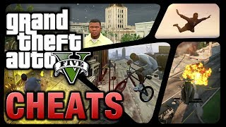 GTA 5 Cheats (PS4, Xbox One, PS3 & Xbox 360)