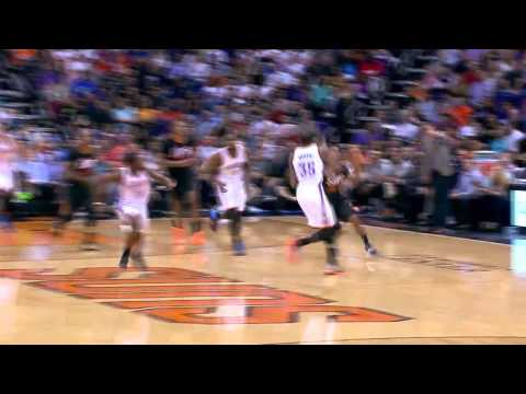 Thread The Needle | Oklahoma City Thunder vs Phoenix Suns | March 06, 2014 | NBA 2013-2014