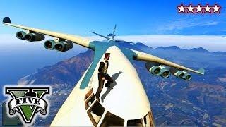 GTA 5 CARGO PLANE!!! GTA Military Jets, Blimps & Cargo