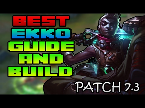 BEST Ekko Guide and Build Path Patch 7.3 |League of Legends | Mid Lane vs Syndra Ranked | Patch 7.4