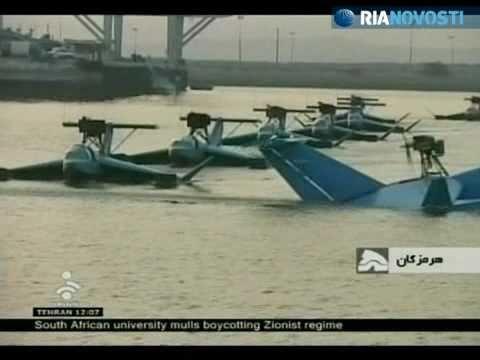 Iran new radar-evading flying boats Bavar-2 Belif-2 Iranian army RIA Novosti