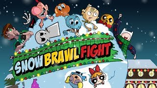 SnowBrawl Fight Cartoon Games